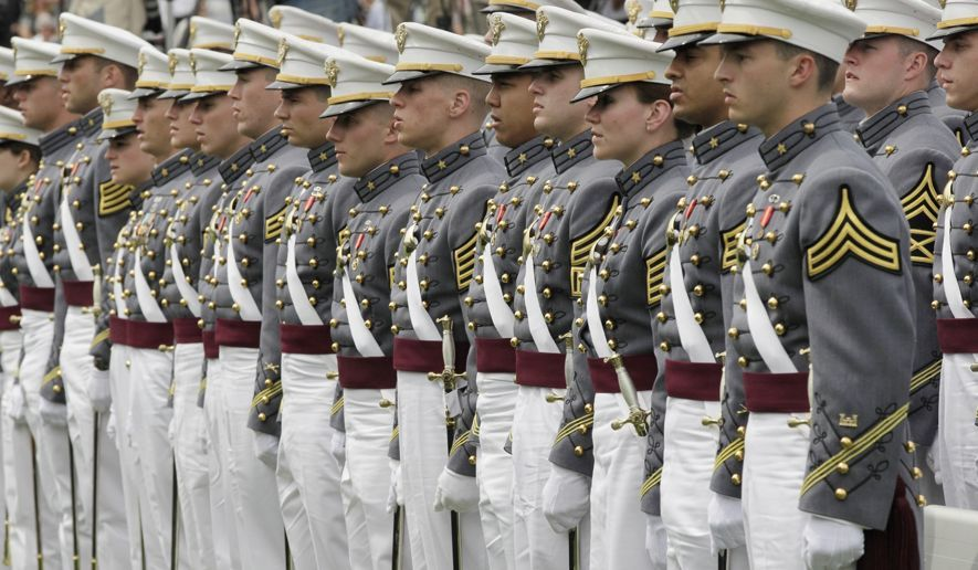 military army line up